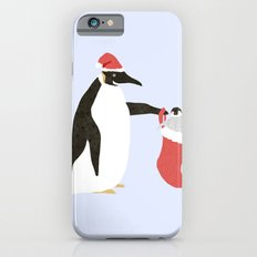 Holiday Penguins iPhone 6s Slim Case