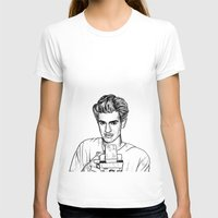 garfield T-shirts featuring Andrew Garfield by Sharin Yofitasari