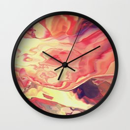 The sun is resting Wall Clock