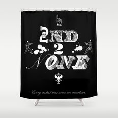 2nd 2 None : white Shower Curtain