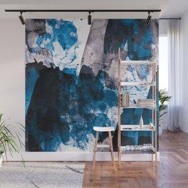 blue & mauve Wall Mural