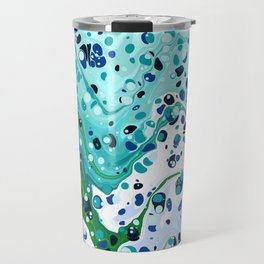 Splatter Forest Travel Mug