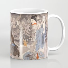 Apparition of the Monstrous Cat Coffee Mug