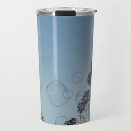 Bubbles & Palm Trees Travel Mug