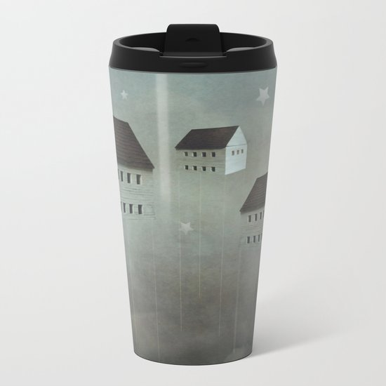 the architecture of dreams Metal Travel Mug