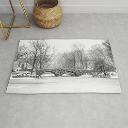 Stone Bridge Clove Lake Park Rug