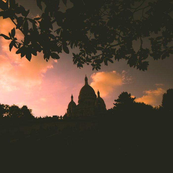 Sacre-Coeur, Paris. Duvet Cover
