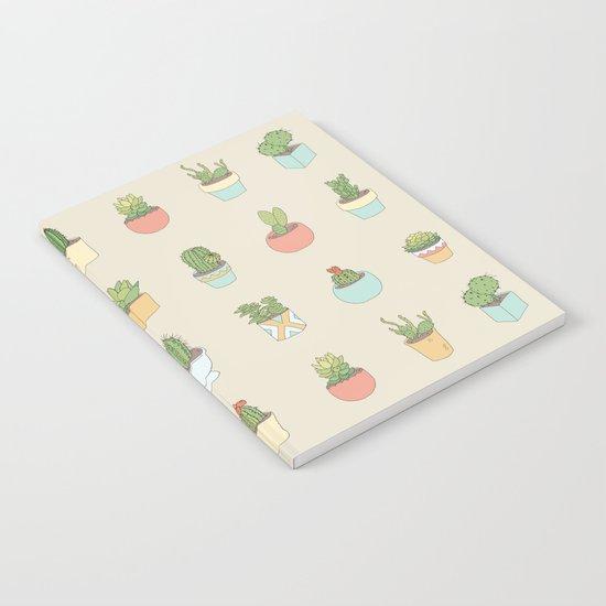 Cute Succulents Notebook
