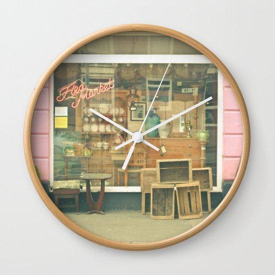 Market Wall Clock