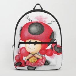 Toadette Ladybug Backpack