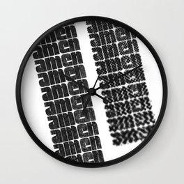 AMEN Wall Clock