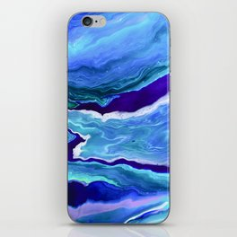 Dreamy Fluid Abstract Painting iPhone Skin