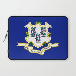 State Flag of Connecticut Laptop Sleeve