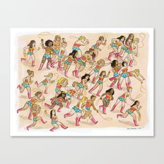 Wonder Women! Canvas Print