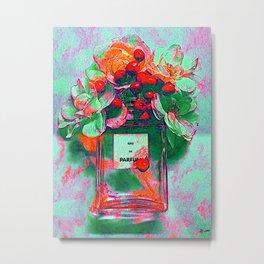 Parfum Flowers Metal Print
