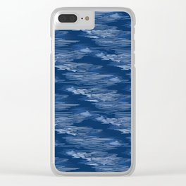 Scribbling pen Clear iPhone Case