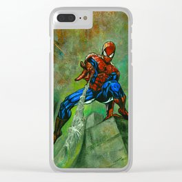 Spider-man Clear iPhone Case