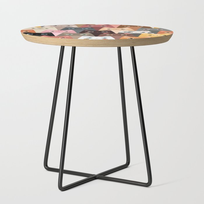 Cats_Pattern_Side_Table_by_JunkyDotCom__Black__Round