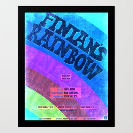 Finian's Rainbow Poster Art Print