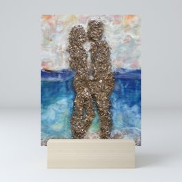 There's Love in Silence  Mini Art Print
