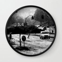 City Hamburg Wall Clock