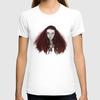 redhead T-shirts featuring Redhead by AParry