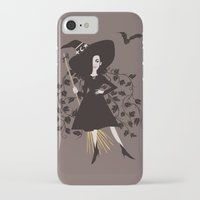 poison ivy iPhone & iPod Cases featuring Poison Ivy by Reimena Ashel Yee