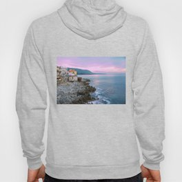Cefalu Italy Coast Sunset Hoody