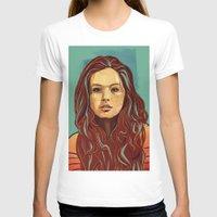 daria T-shirts featuring Daria Sidorchuk by Jakub Cichecki