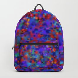 dot dot blob blob Backpack