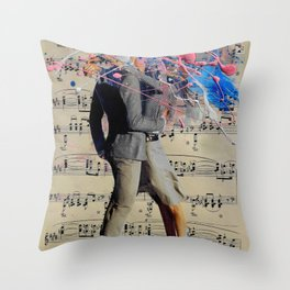 THE ART OF KISSING Throw Pillow