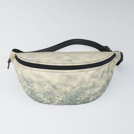 Alone in the canola field Fanny Pack