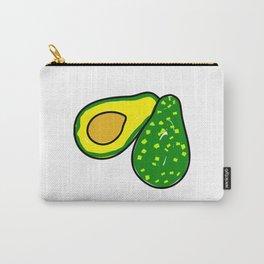 Avocado Fruit Carry-All Pouch
