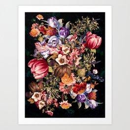 Midnight Garden VII Art Print