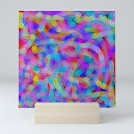 field of circles Mini Art Print