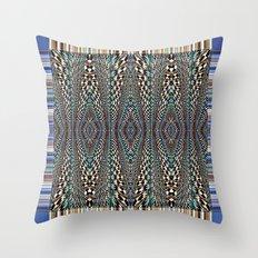 Garden of Illusion Throw Pillow