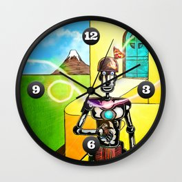 First Contact Wall Clock