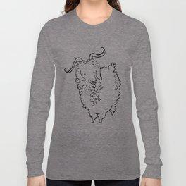 Angora Goat Long Sleeve T-shirt