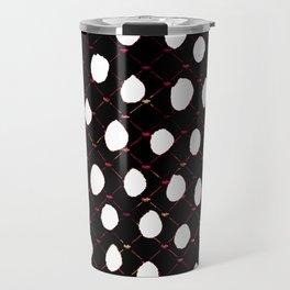 plaid polka Travel Mug