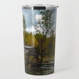 Plitvice lakes hidden spot Travel Mug