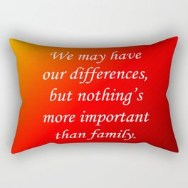Our Differences Rectangular Pillow