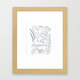 Fresh Bread Framed Art Print