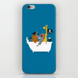 Everybody wants to be the pirate iPhone Skin