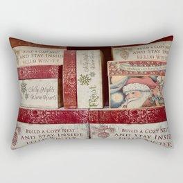 Christmas design with gift boxes Rectangular Pillow
