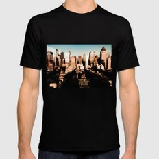 Hells Kitchen Mens Fitted Tee Black SMALL