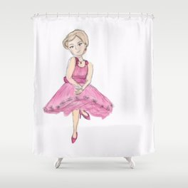 Jr. Ms. Baltimore Shower Curtain