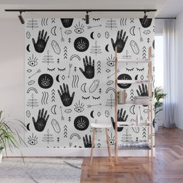 Witchy Patterns Wall Mural