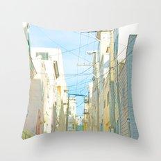 San Francisco Tops 4 Throw Pillow