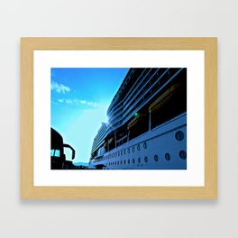 Mariner of The Seas Framed Art Print