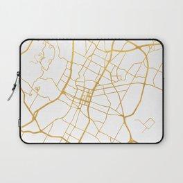 AUSTIN TEXAS CITY STREET MAP ART Laptop Sleeve